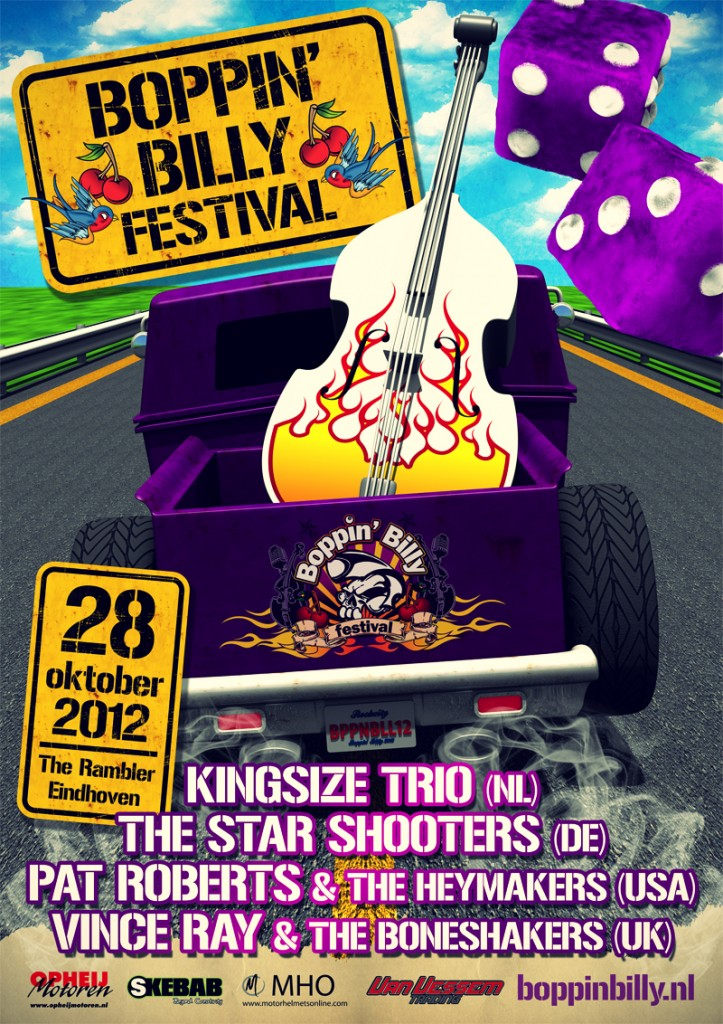 Boppin Billy 2012 Poster